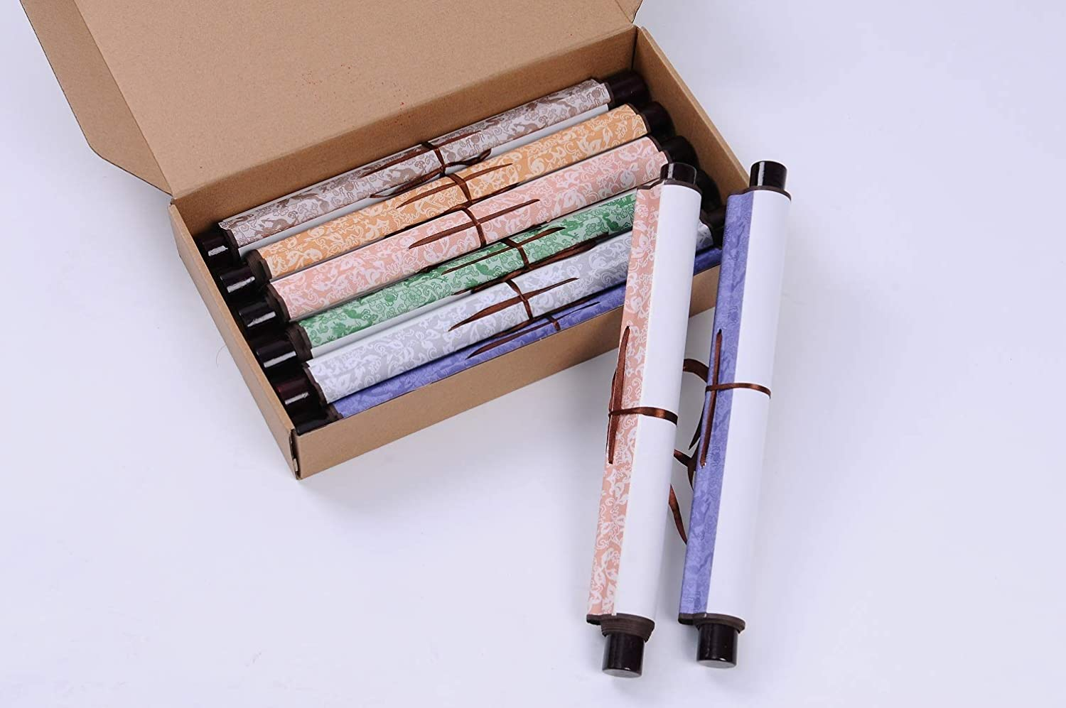 Chinese Xuan Paper Art Wall Scrolls for Sumie and Calligraphy