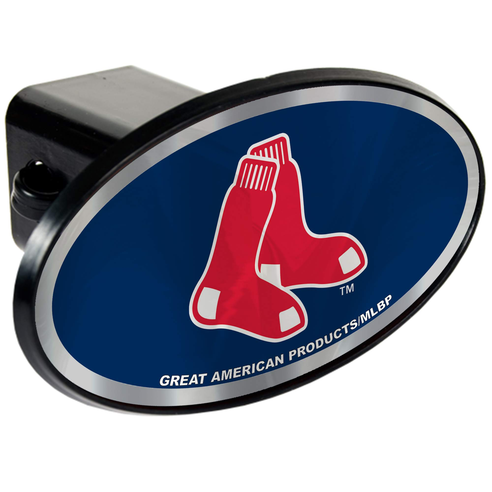 Boston Red Sox 2'' MLB Trailer Hitch Receiver Cover - ABS Plastic by Quality Hitch Covers