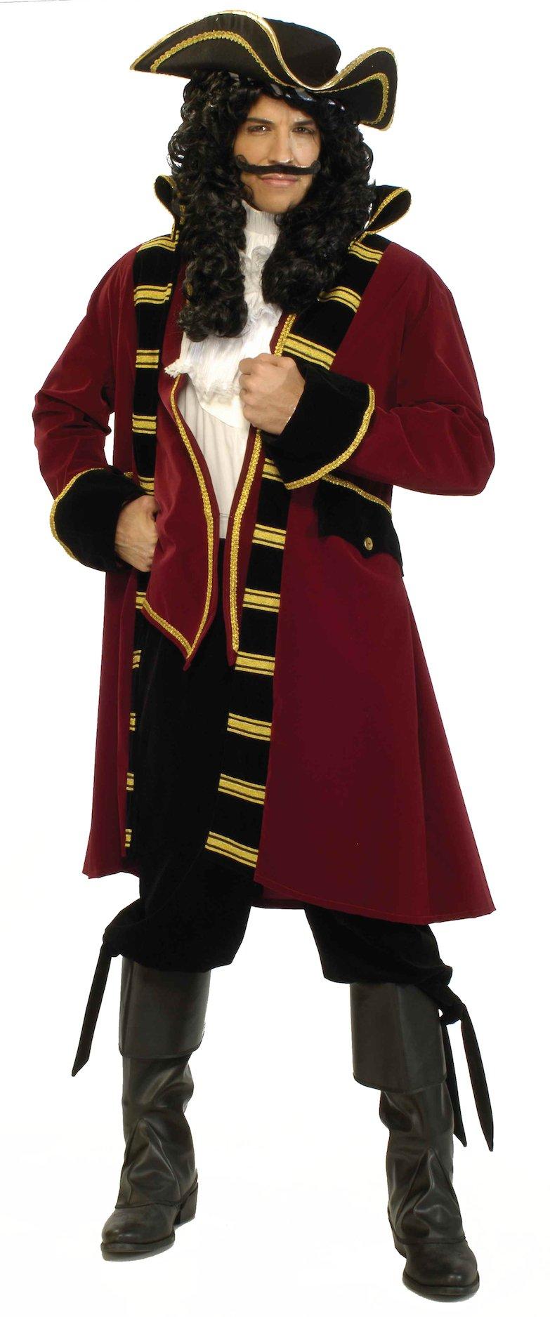 Forum Designer Deluxe Pirate Captain Costume, Multi, Extra Large