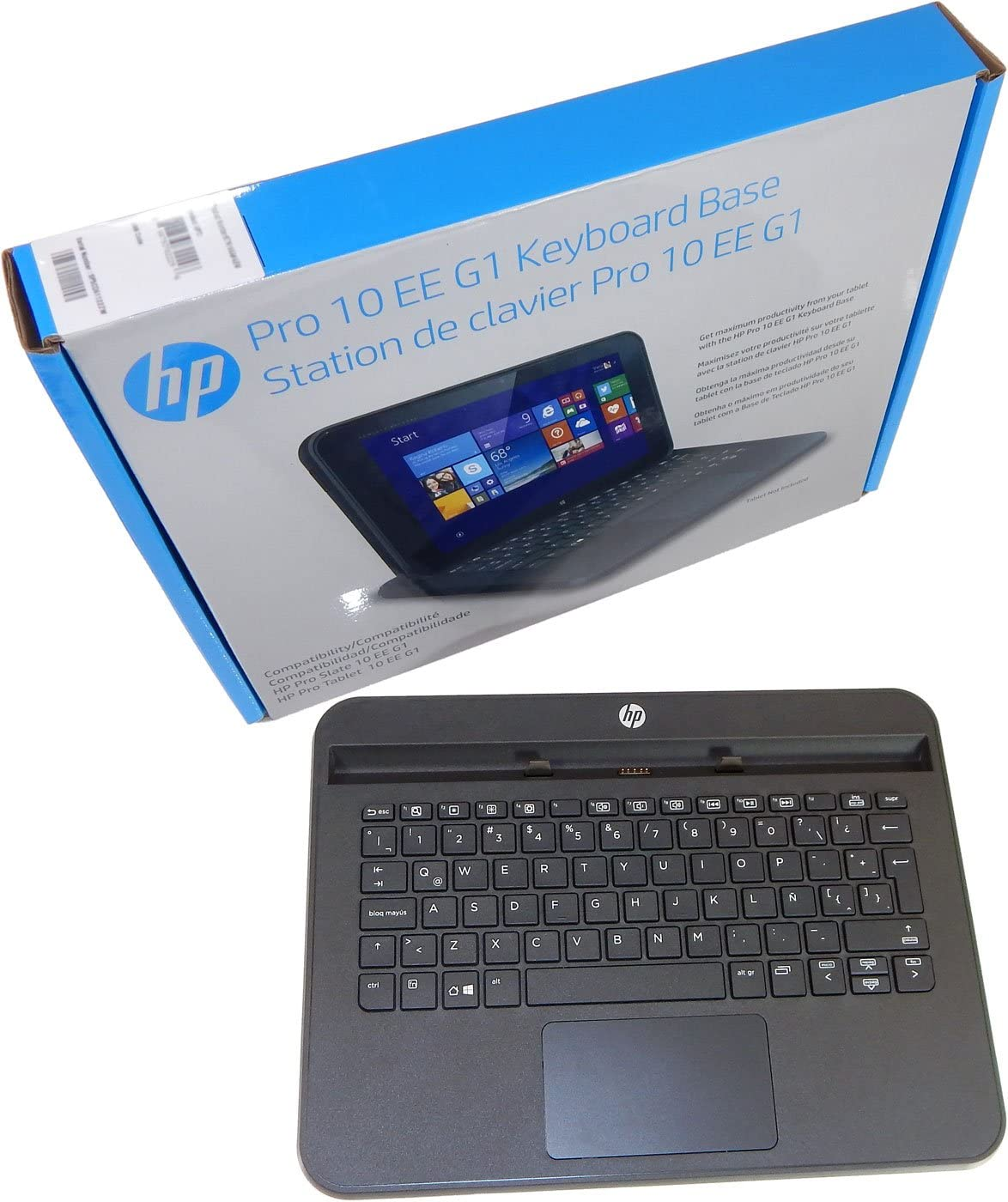 HP Spanish Keyboard Base Pro 10 EE G1 K7N19AA-ABM K7N19AA#ABM