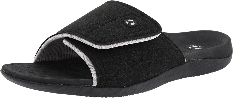 | Vionic Kiwi Slide Sandal - Slide Sandal with Concealed Orthotic Arch Support | Slides