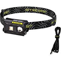Nitecore NU25 360 Lumen Triple Output - White, Red, High CRI - 0.99 Ounce Lightweight USB Rechargeable Headlamp with…