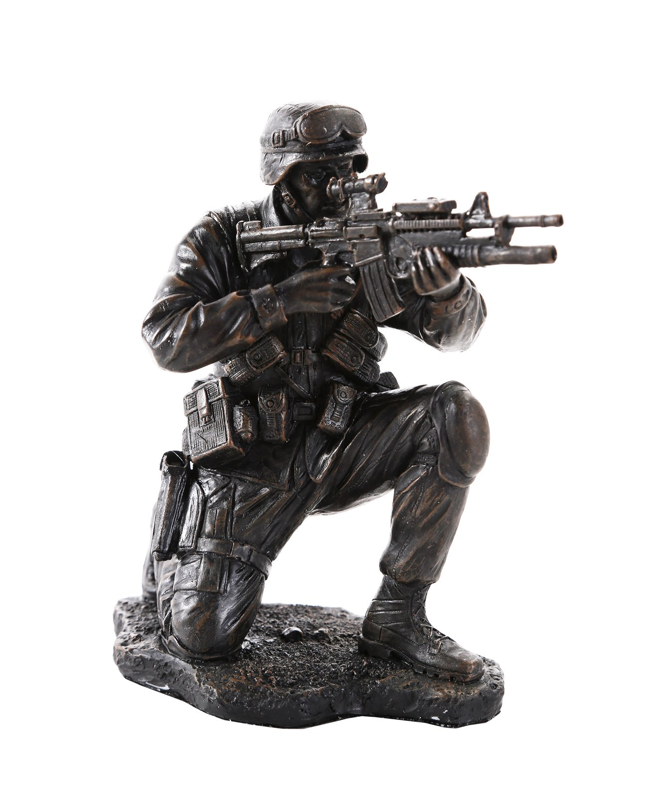Pacific Giftware America's Finest Brave Soldier Military Heroes Collectible Figurine