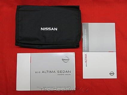 amazon com 2015 nissan altima sedan owners manual automotive rh amazon com nissan pathfinder 2007 user manual nissan pathfinder 2007 service manual
