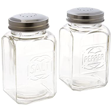 Home Essentials & Beyond 8996 Lifestyle Embossed Salt & Pepper Shaker