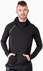 Nonzero Gravity Men's Sauna Suit Hoodie   Hot Thermo Hoodie for