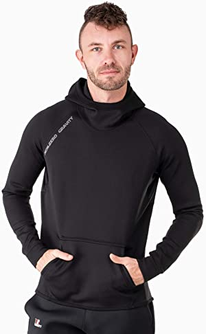 Nonzero Gravity Men's Sauna Suit Hoodie   Hot Thermo Hoodie for Home Workouts Cutt