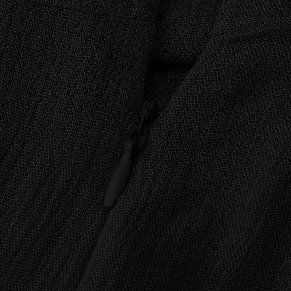 JIAJIJIAJNGY Damen Elegant Sommer /Ärmellos Kleid Jersey Party Rockabilly Partykleid Abendkleider Cocktailkleid Lang Sommerkleider