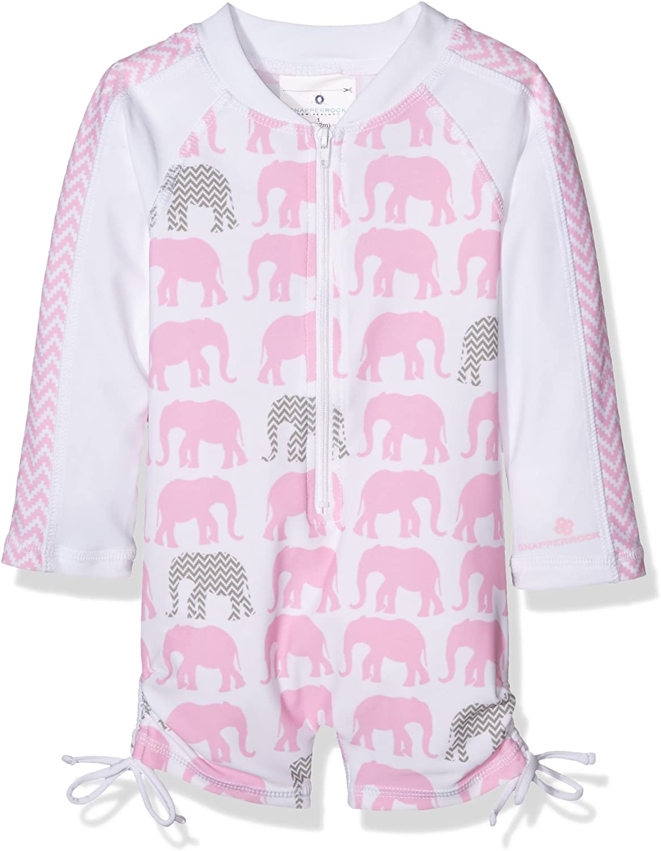 UV sch/ützend warm Langarm Badeanzug f/ür Kinder Snapper Rock Baby M/ädchen UPF 50
