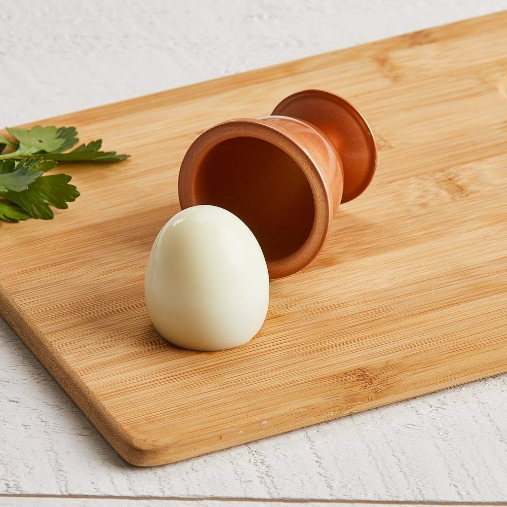 -Copper Chef Egg Cooker- No Peel Soft Copper Chef Eggs Hard and Poached Eggs Without the Shell /… X-Large