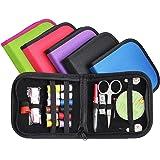 CHIC-CHIC 1pc Nähset Zubehör Koffersatz für Haus, Reisen Camping und Notfall-Premium-Sew (zufällige Farbe)