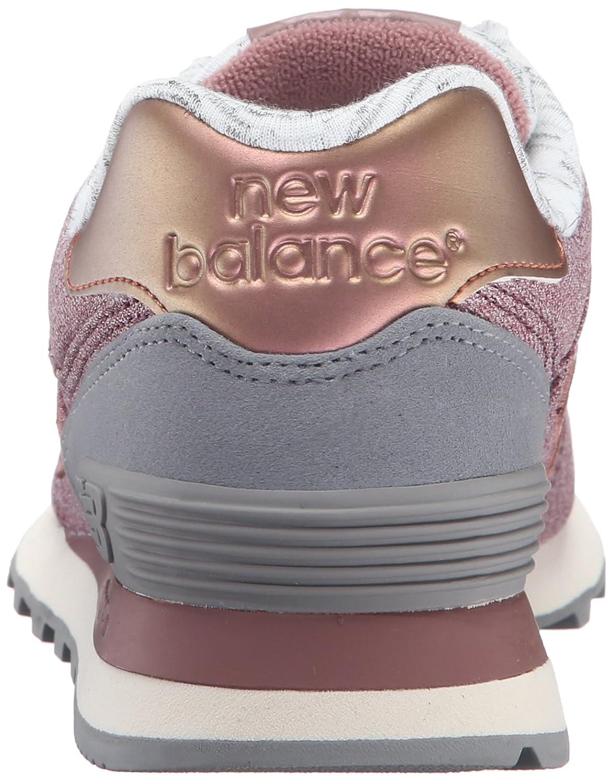 New Elegance Balance Women's 574 Heathered Elegance New Fashion Sneaker B01956AL1M 11 B(M) US|Lush/Steel e839b5