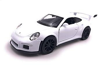 H-Customs Porsche 911 991 GT3 RS Modelo Coche Auto Licenciado Producto 1: 34-1: 39 Blanco: Amazon.es: Coche y moto