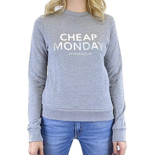 Cheap Monday Win Sweat Foil Logo, Camiseta para Mujer
