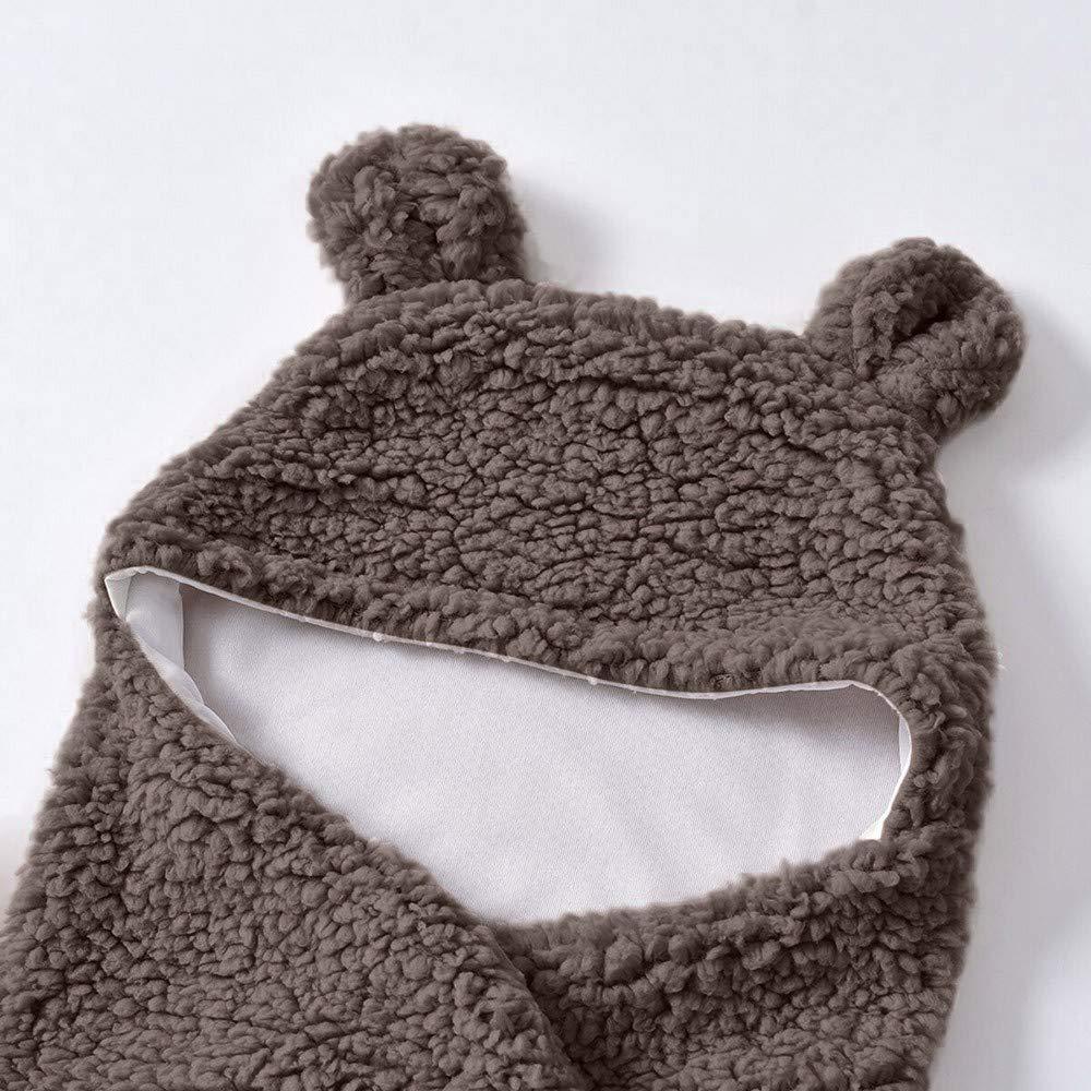 Onefa Newborn Baby Boy Girl Wrap Swaddle Cute Cotton Receiving White Sleeping Blanket