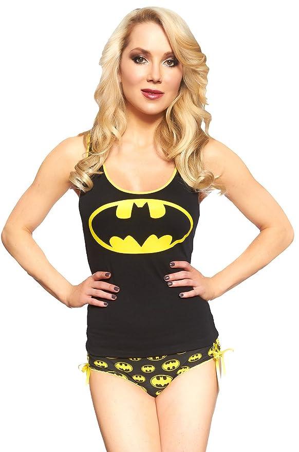 DC Comics Batgirl Lace Up Cami Panty Set