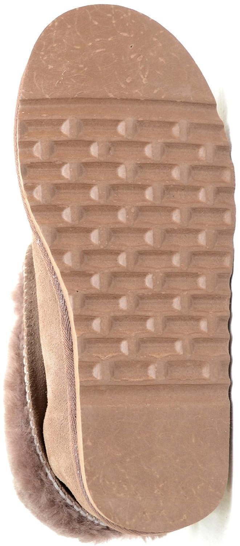 Damenschuhe/Slipper aus Schafleder Schafleder Schafleder mit Umschlag Mink c20ea4