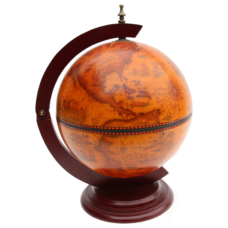 Waypoint Geographic Tuscany 13'' Italian Style Tabletop Bar Globe