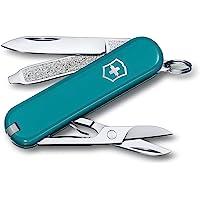 Victorinox Unisex – nóż kieszonkowy dla dorosłych Classic SD Colors, Mountain Lake, 58 mm