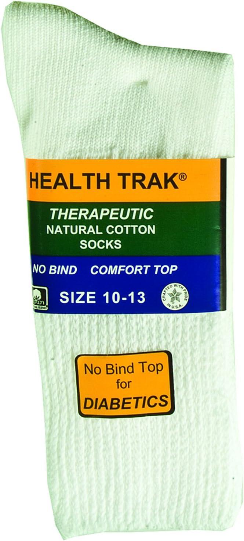 The Railroad Sock 2 Pk. Therapeutic No Bind Natural Cotton