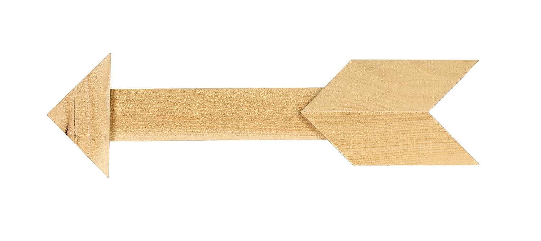 Amazon.com: Walnut Hollow Rustic Arrow, 27.75 x 7 x .75\