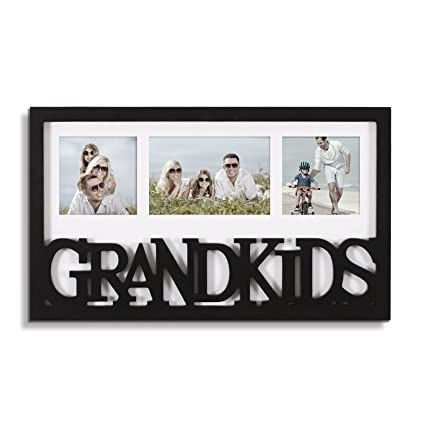 Amazon.com - Adeco Decorative Black White Wood \'\'Grandkids\'\' Wall ...