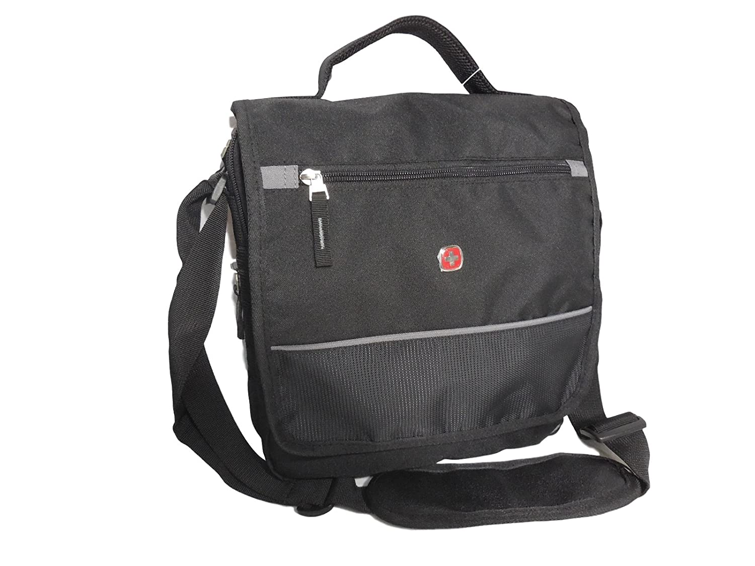 880caff873 Swiss Gear Mini Messenger Sling Body Bag - Black ( to fit for Netbook and  iPad