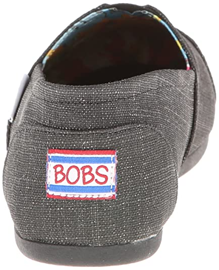 Peluche Eu Recuerdos Mujer Bobs Negro Color 39 Talla Para Skechers fqzpH6z