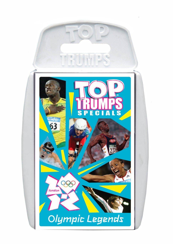 3xTop Trumps Specials Olympic Legends