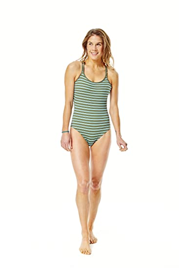 098a4604923 CARVE Designs Women's Beacon One Piece, Canyon Stripe, X-Small