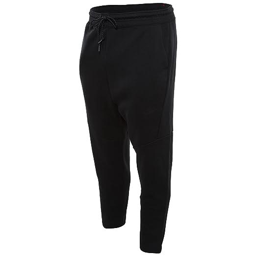 bf4d9d91 Nike Men's Tech Fleece Cropped Pants Black 727355 010 at Amazon ...