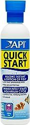 API Quick Start Aquarium Freshwater and Saltwater Nitrifying Bacteria Conditioner, 237 ml