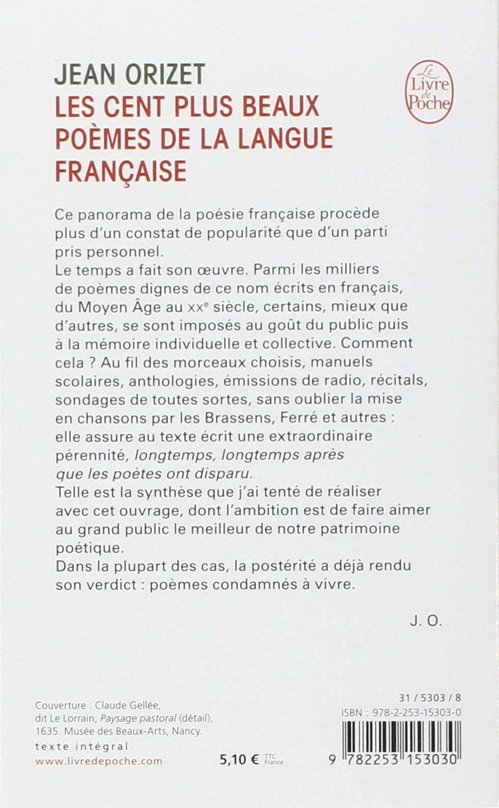 Amazonfr Les Cent Plus Beaux Poèmes De La Langue