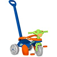 Triciclo Mototico Passeio & Pedal (Azul), Bandeirante, Azul