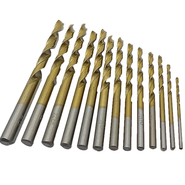 HSS Spiral Edelstahlbohrer Metallbohrer 1-30mm HSS TiN HSS-G HSS-R 21 mm HSS-R reduzierter Schaft 1 St/ück