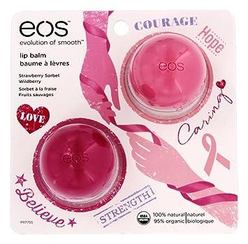 EOS Lip Balm Wildberry Exclusive Sphere .25oz 6 Pack - Cetaphil Intensive Moisturizing Cream, 3 oz Each