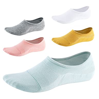 No Show Socks for Women-Low Cut with Non Slip Grip-Invisible Socks for Boat  Shoes Loafers Sneakers UK Size5-8 5Pairs SEESILY (1)  Amazon.co.uk  Clothing 37c06b7cbf