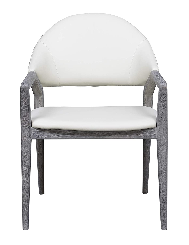 Tremendous Amazon Com Emerald Home Furnishings Carrera Slate Gray Arm Inzonedesignstudio Interior Chair Design Inzonedesignstudiocom