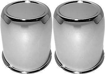 Chrome Push Through Center Cap For 2.95  Center Bore Auto or Trailer Wheel Rims