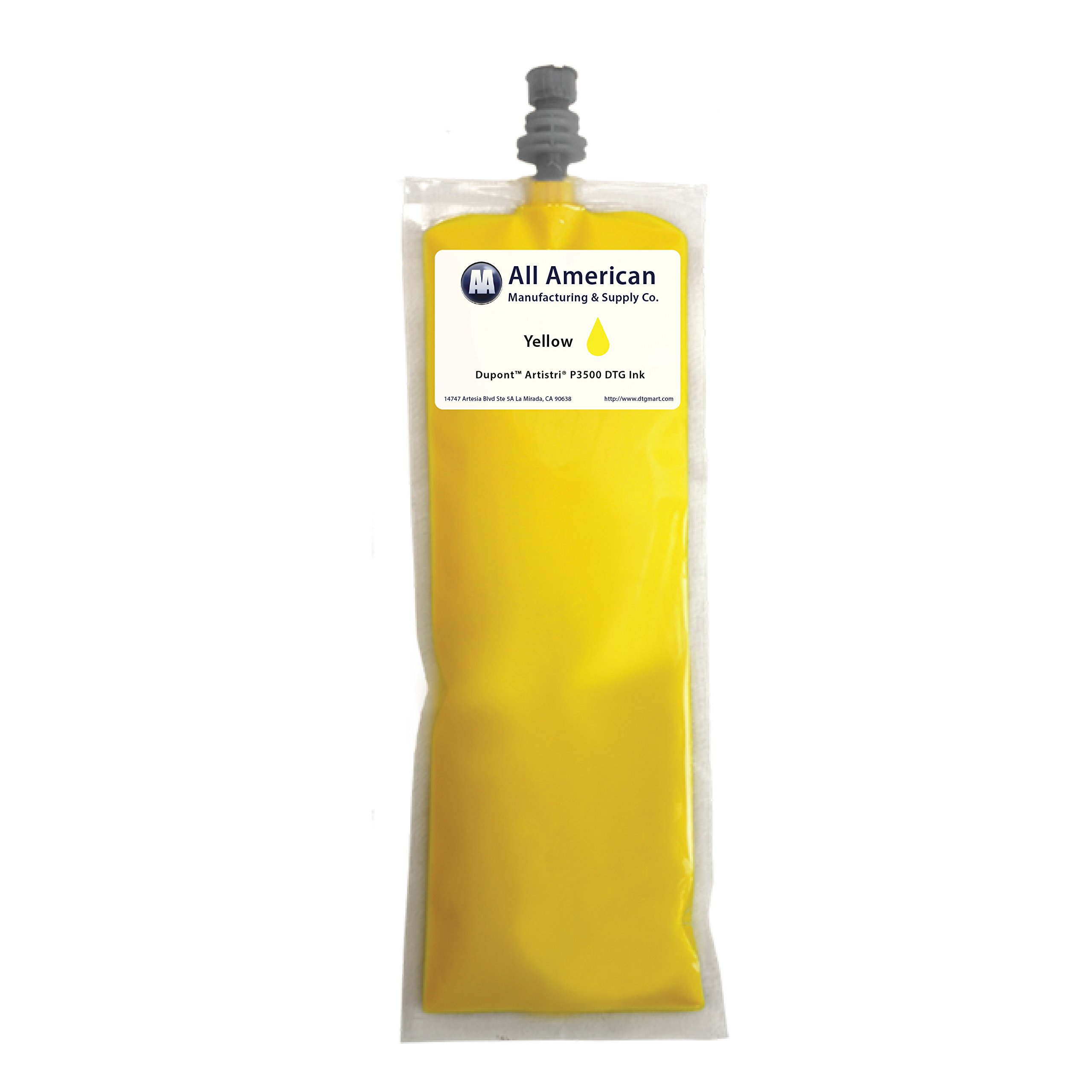 DTG Ink 220ml DuPont P3500 Series Same as Power Bright Ink for mP5 and mP10 (Yellow)