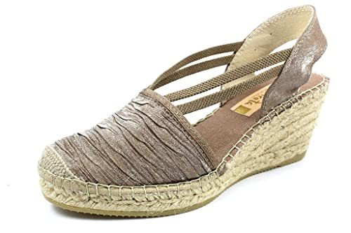 Vidorreta 18400 Cuerda - Alpargatas para Mujer, Color marrón, Talla 39: Amazon.es: Zapatos y complementos