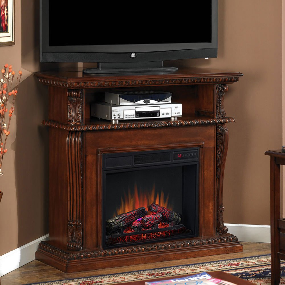Surprising Classicflame Corinth Wall Or Corner Electric Fireplace Media Home Interior And Landscaping Oversignezvosmurscom