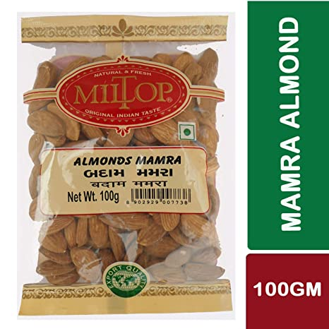 Miltop Mamra Almond 100 gm