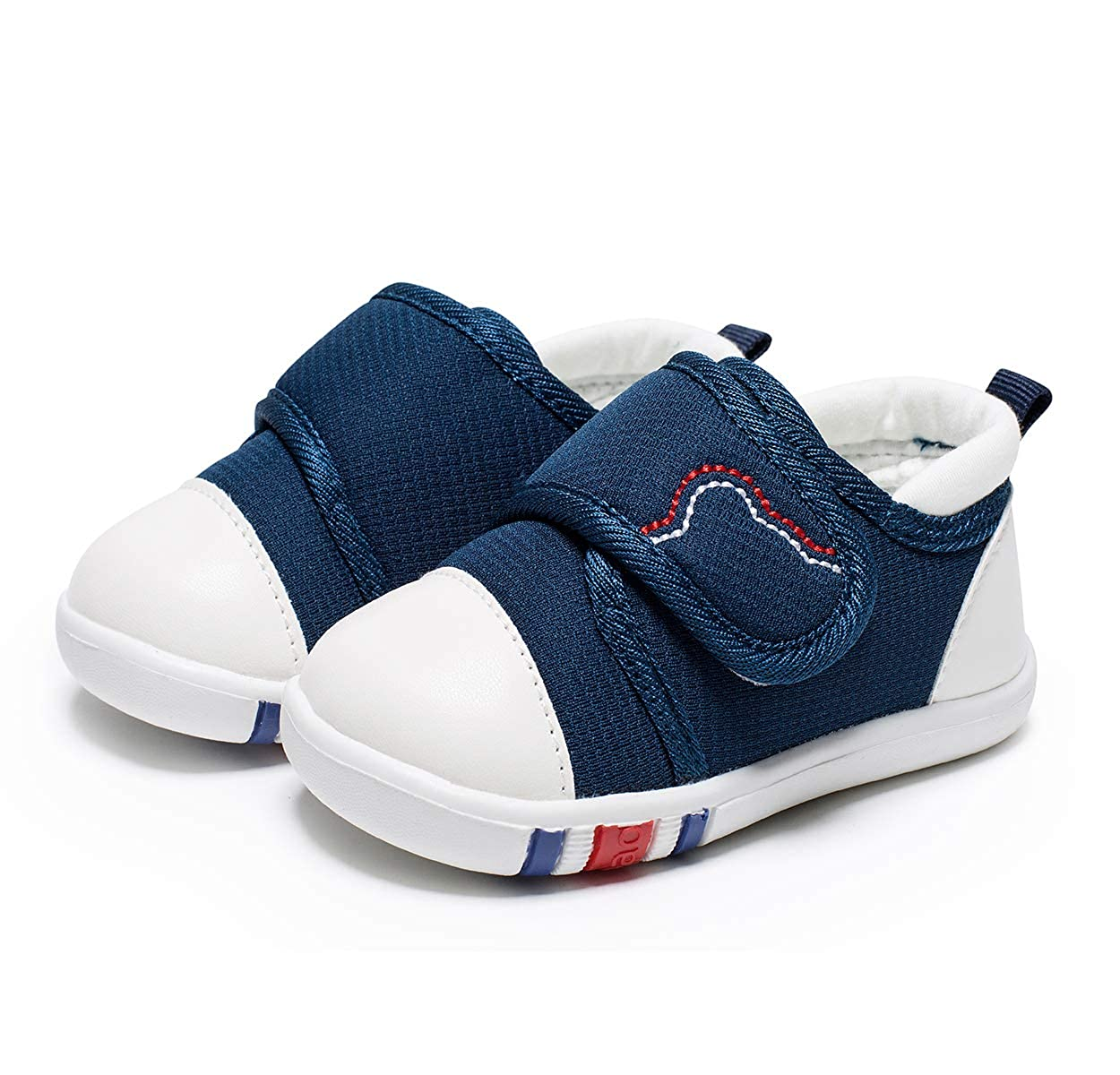 HLMBB Baby Shoes Sneakers for Infant Toddler Girls Boys Kids Babies 6 9 12 18 Months Pre Walker Black
