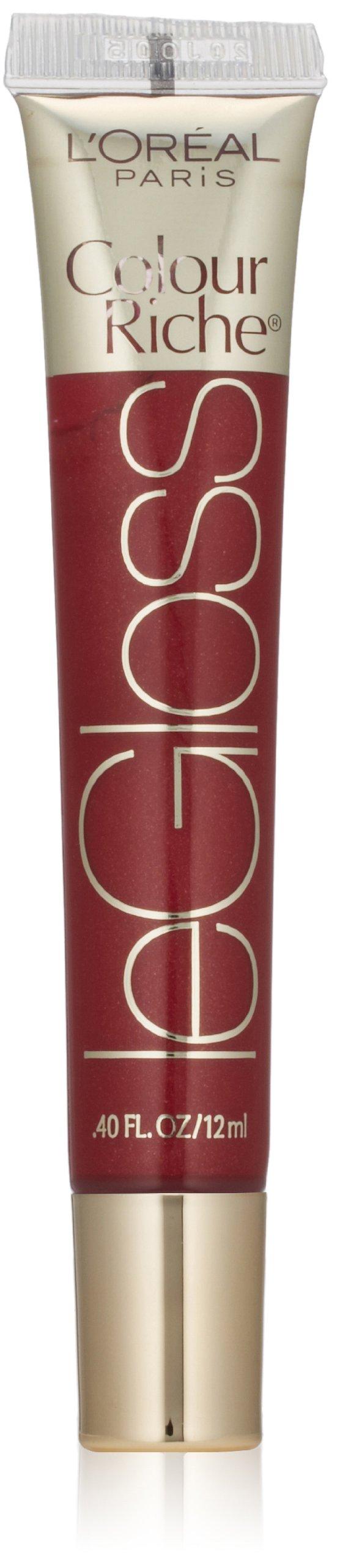 L'Oréal Paris Colour Riche Le Gloss, Blushing Berry, 0.4 fl. oz.