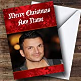 Personalised peter andre birthday card amazon office products peter andre personalised christmas card bookmarktalkfo Image collections