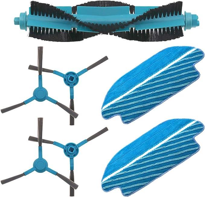 Zealing Paquete de 2 Cepillo Principal para Cecotec Conga 3490 Elite rob/ótica aspiradora recambios
