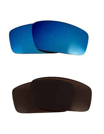 30dbfa83f6b Eyepatch 1 Replacement Lenses Bronze Brown   Blue by SEEK fits OAKLEY  Sunglasses