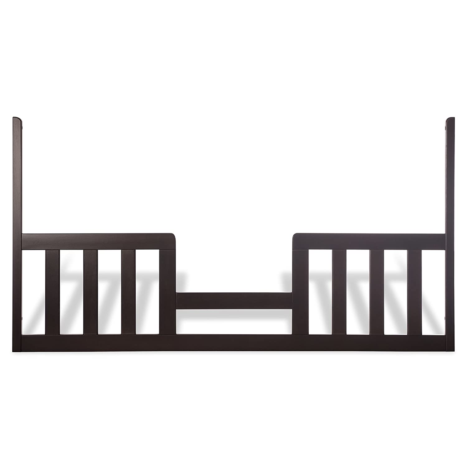 Child Craft Toddler Guard Rail for 3-in-1 Traditional Stationary Cribs, Jamocha Foundations F09534.07