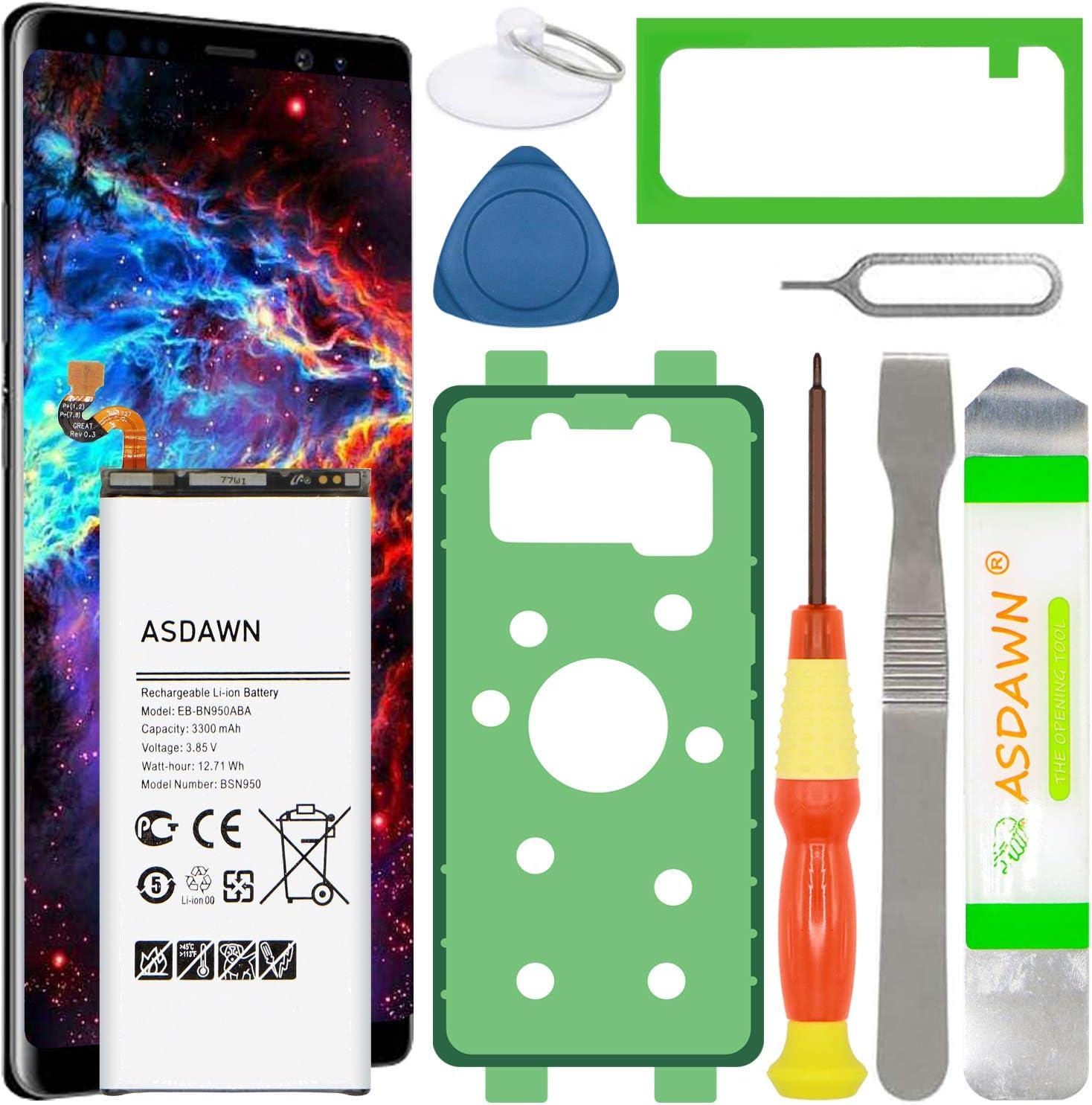 bateria de repuesto y herramientas Galaxy Note 8 N950U